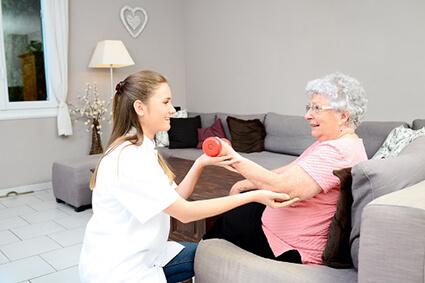 сиделка при альцгеймере
